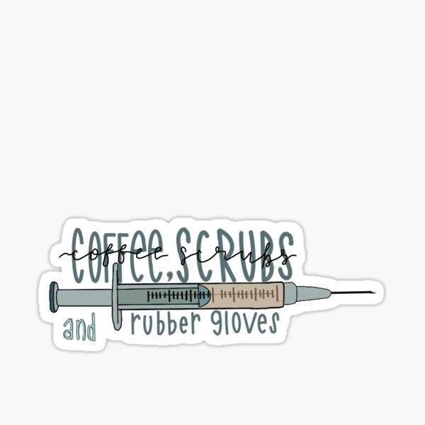 NURSE COFFEE STICKER Sticker