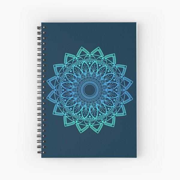 MANDALA BLUE Spiral Notebook