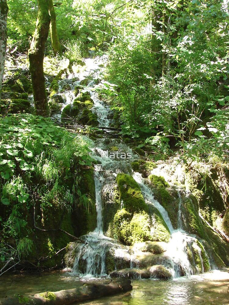 Cascade II. - Plitvice lakes by Natas