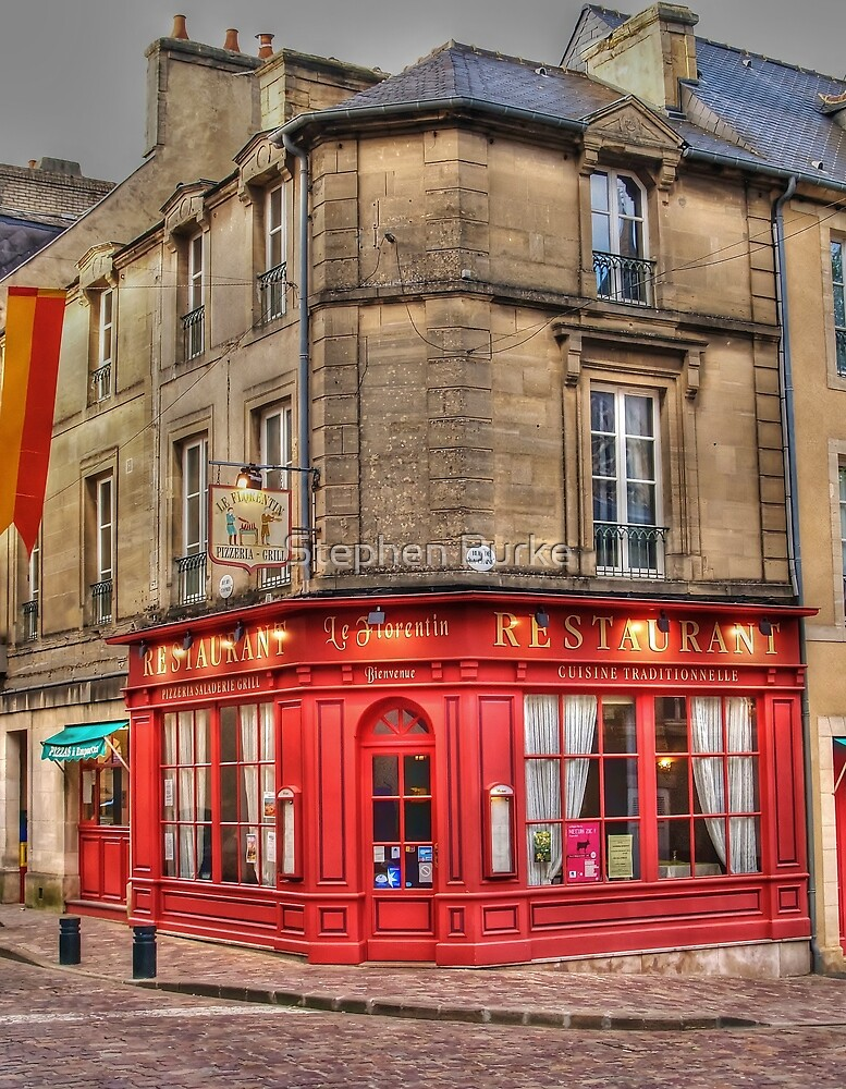Corner Restaurant by Stephen Burke