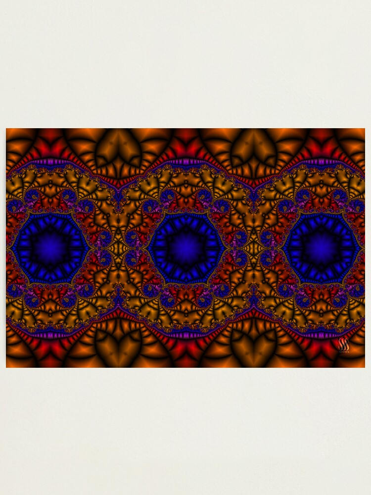 Alternate view of Moroccan Tile Photographic Print
