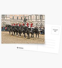 The Queens Red Horseguards Postcards