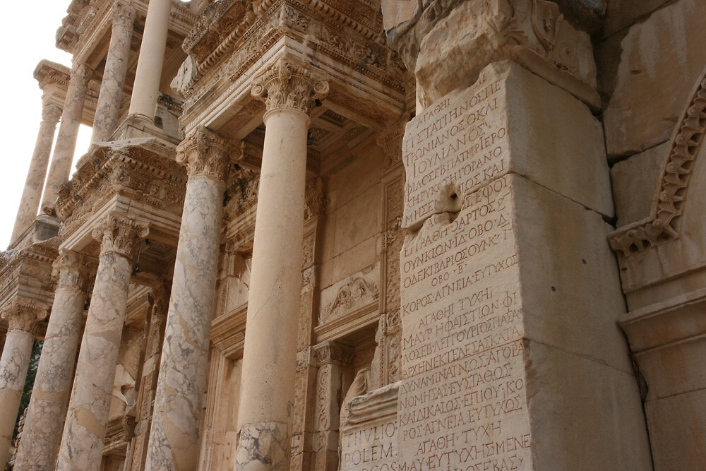 library of celsus, ephesus by Michelle Thomson