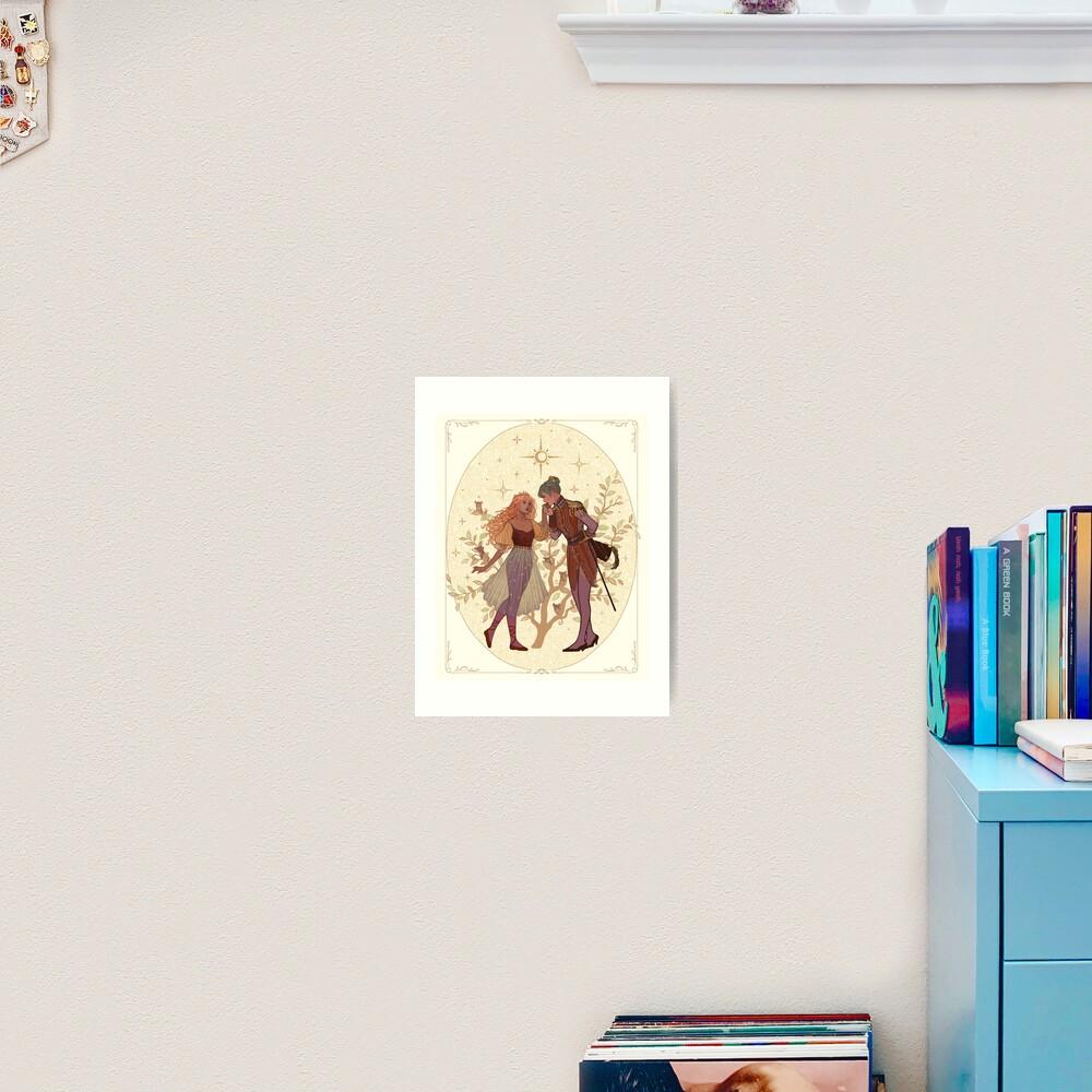 Clara & The Nutcracker Art Print