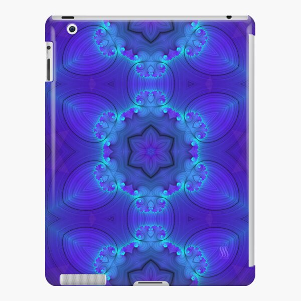 Glowing StarFlower iPad Snap Case
