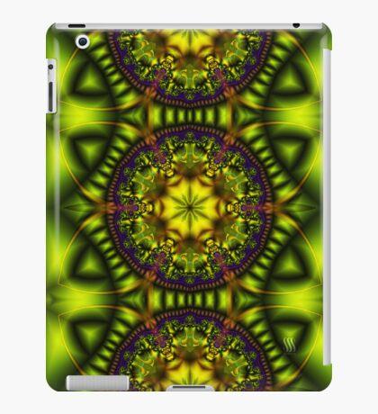 Green Lotus iPad Case/Skin