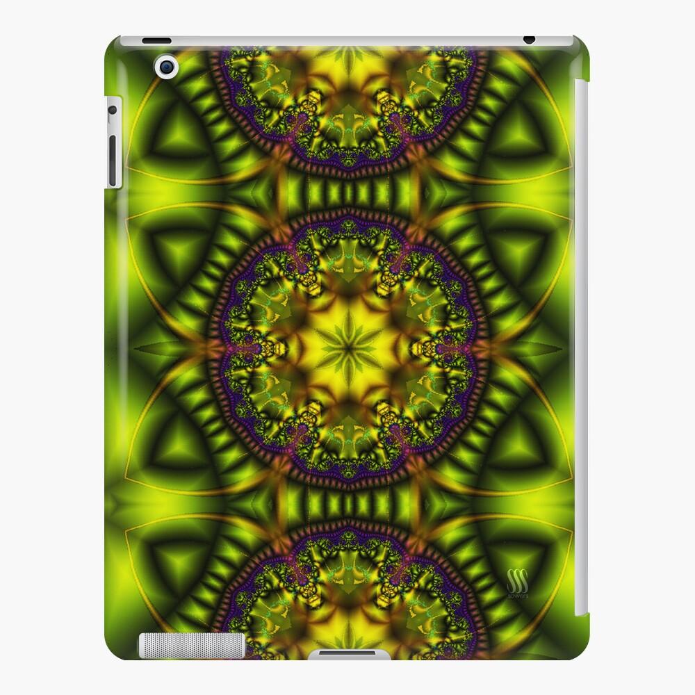 Green Lotus iPad Case & Skin