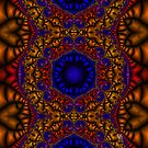 Moroccan Tile - Fractal Jewels Series by Susan Sowers
