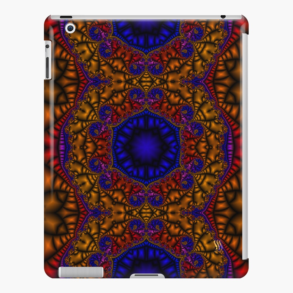 Moroccan Tile - Fractal Jewels Series iPad Case & Skin
