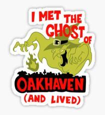 Ghost of Oakhaven Sticker