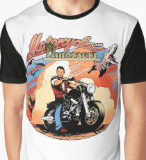 Motorcycles and dinosaurs Graphic T-Shirt