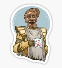 Giant Dad Sticker