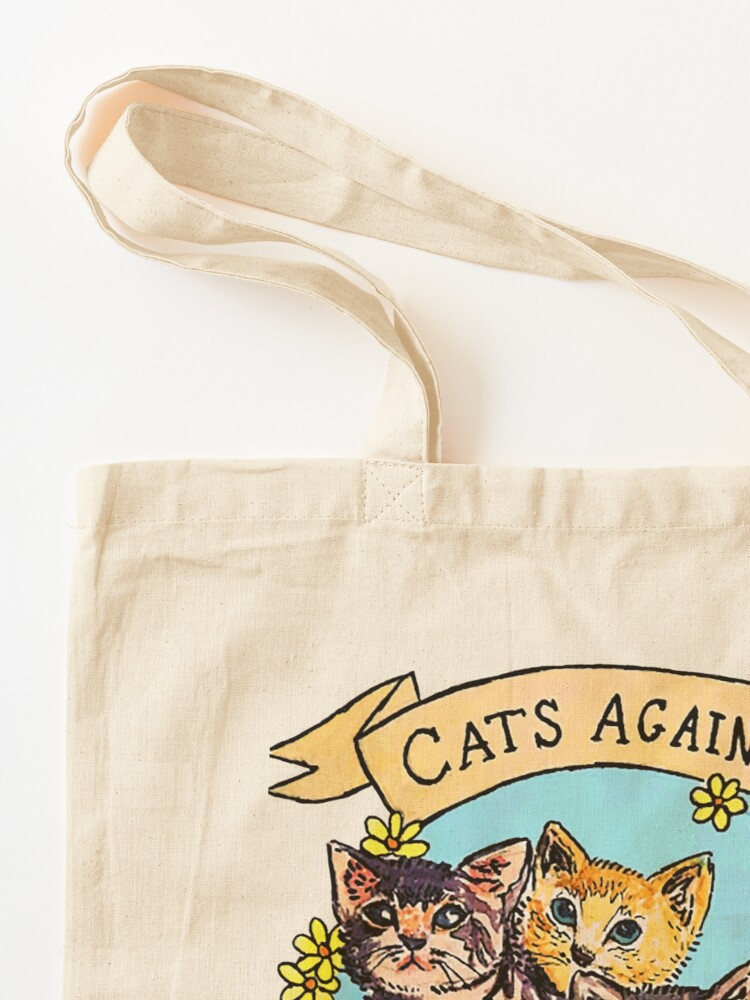 Alternate view of Cats Against Cat Calls V2 Tote Bag