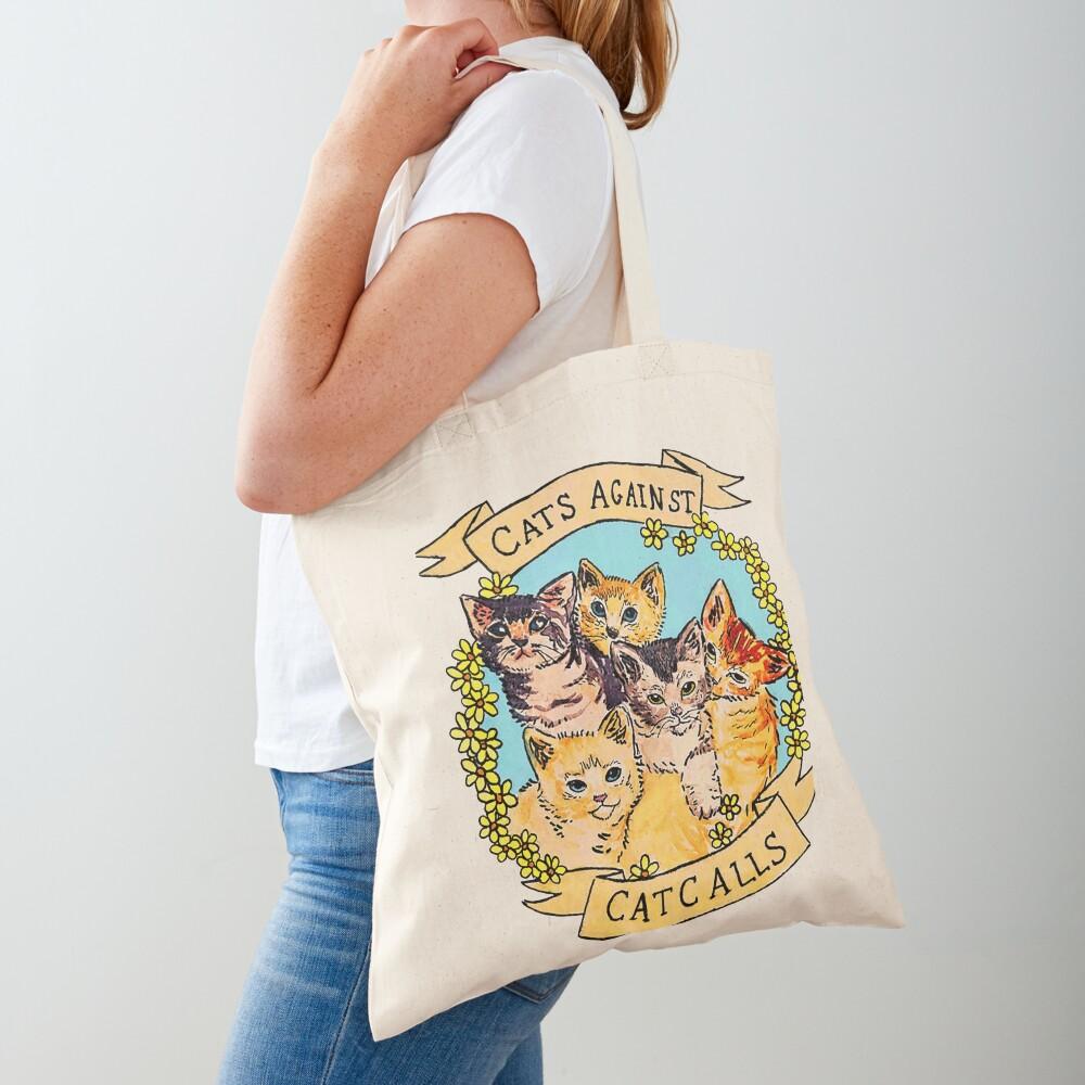 Cats Against Cat Calls V2 Tote Bag