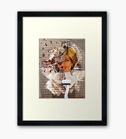 Icons: Lady Crash Framed Print