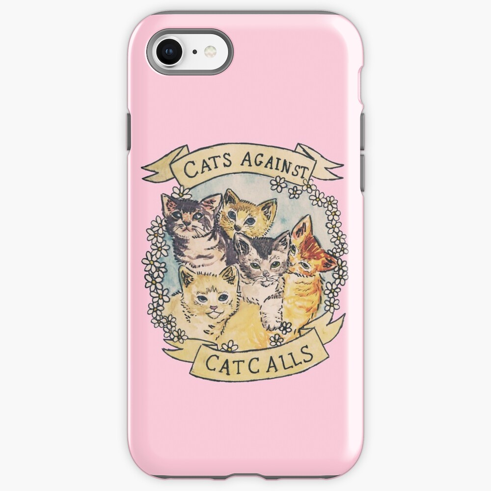 Cats Against Cat Calls ORIGINAL (SEE V2 IN MY SHOP) iPhone Case & Cover
