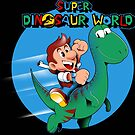 Super Dinosaur World by javiclodo