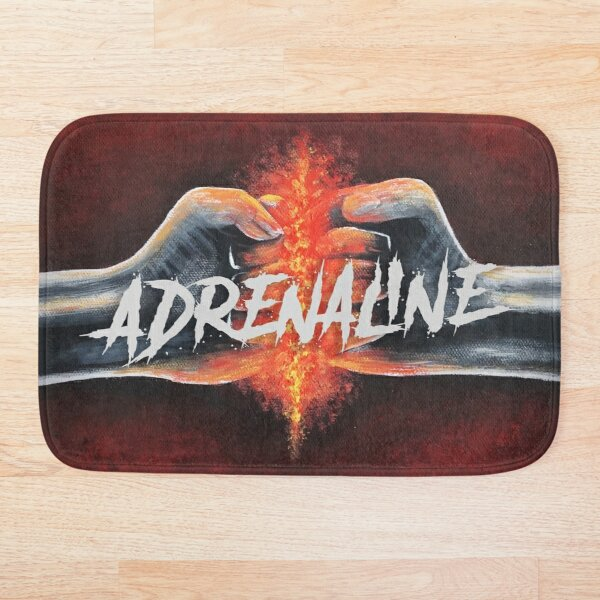 Astradica Adrenaline artwork Bath Mat