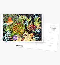 Carte Joyeux Noël Postcards