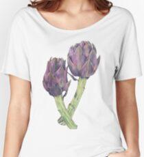 Purple Artichokes Women's Relaxed Fit T-Shirt