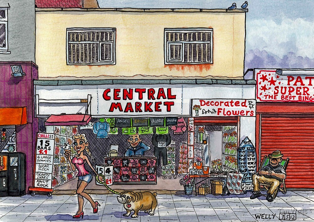Central Market by Tim Wells