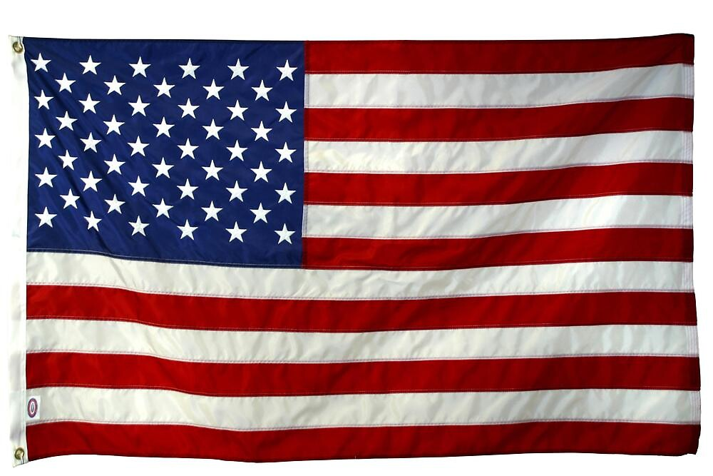 American Flag (PLAIN) by okonskifilms