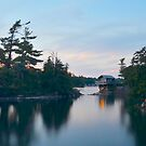Thousand Islands, St. Lawrence River, Ontario by David Galson