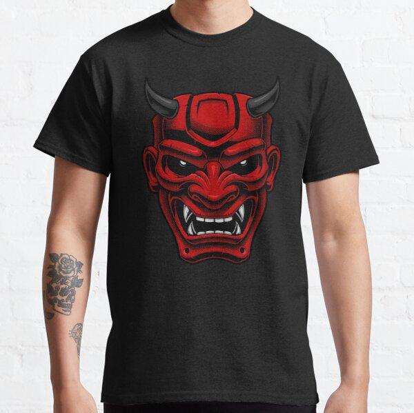 Japanese Oni Demon Mask Classic T-Shirt