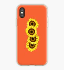 Iphone Case Sunflowers - Sunset Orange iPhone Case