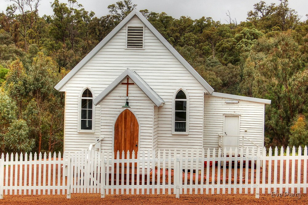 Jarrahdale Church by Eve Parry