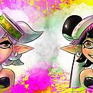 Callie and Marie Splat by bonkalore