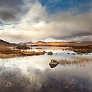 Loch Na h-Achlaise by Brian Kerr