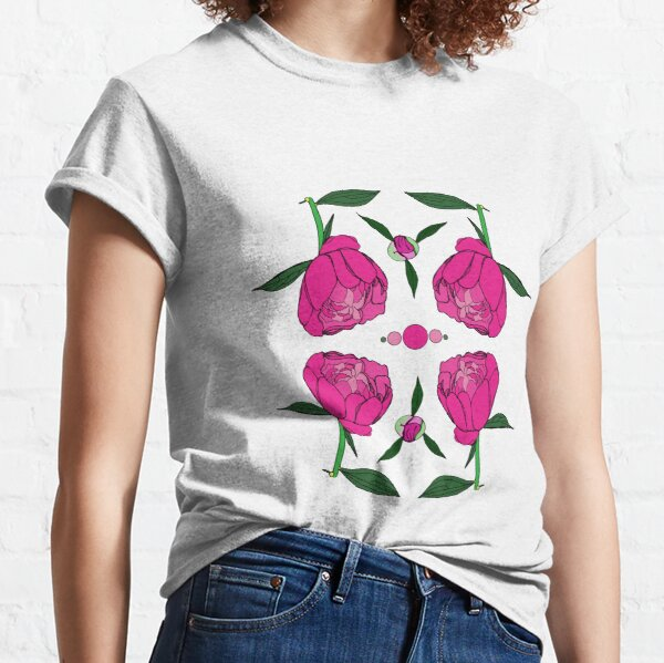 Peonies If You Please Classic T-Shirt