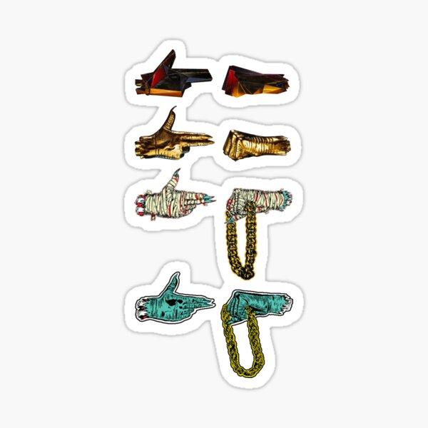 All The Jewels Sticker