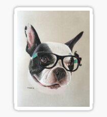 Mia the quirky French Bulldog! Sticker