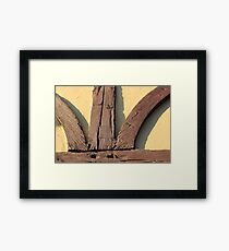 Architectural Detail 3 Framed Print