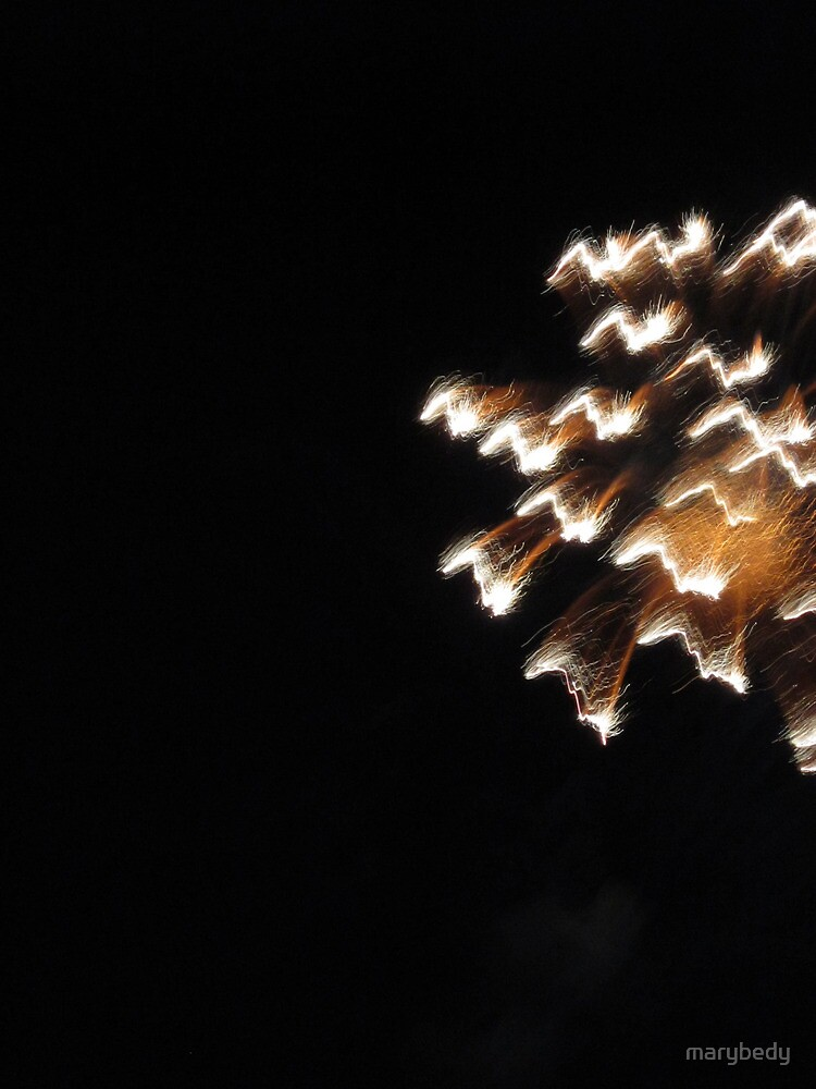 Fireworks Light Trails 12 by marybedy