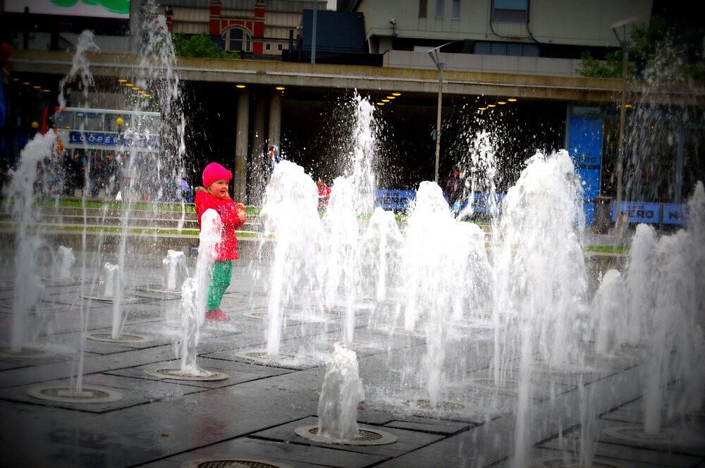 Fountain Fun! by Sarah Williams