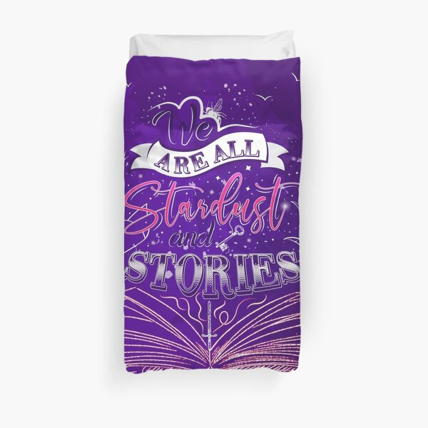 Stardust and Stories- The Starless Sea Duvet Cover