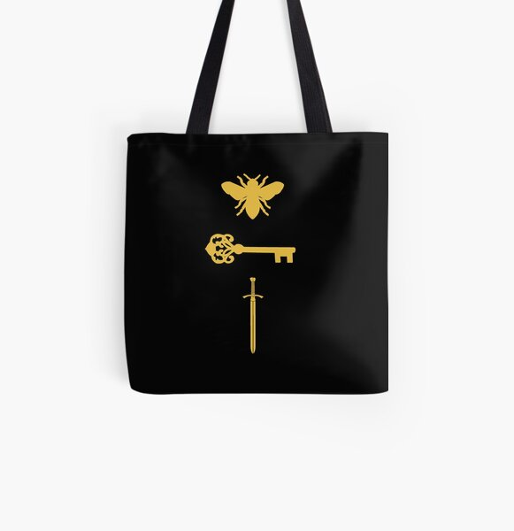 The Starless Sea Bee Key Sword All Over Print Tote Bag