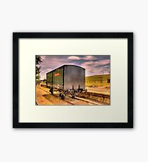 Explosives Wagon Cooma Railway NSW Framed Print