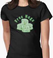 Gelatinous Hugs Tee Womens Fitted T-Shirt