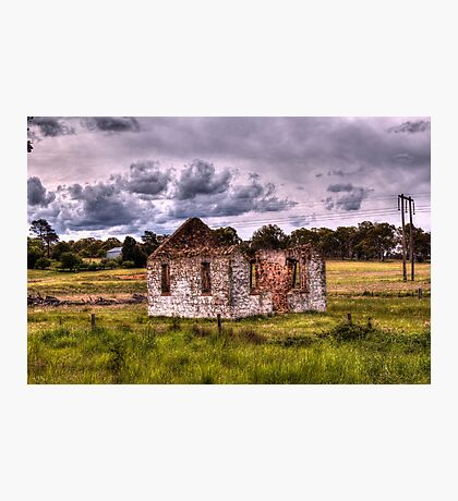 Church Ruins Hume Highway NSW Photographic Print