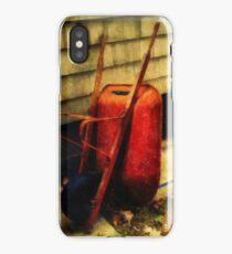 The Red Wheelbarrow iPhone Case/Skin