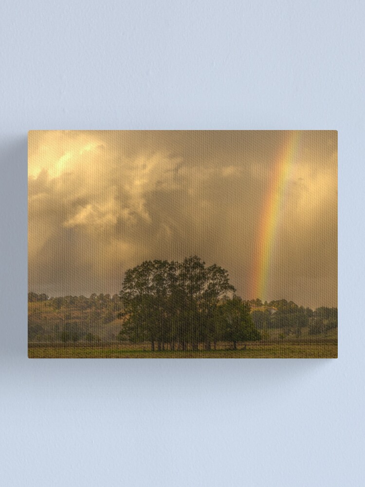 Alternate view of Stormy Sunset Canvas Print