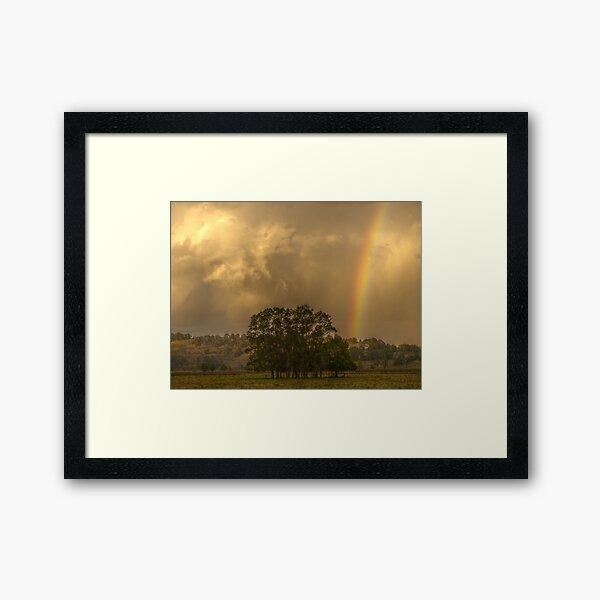 Stormy Sunset Framed Art Print