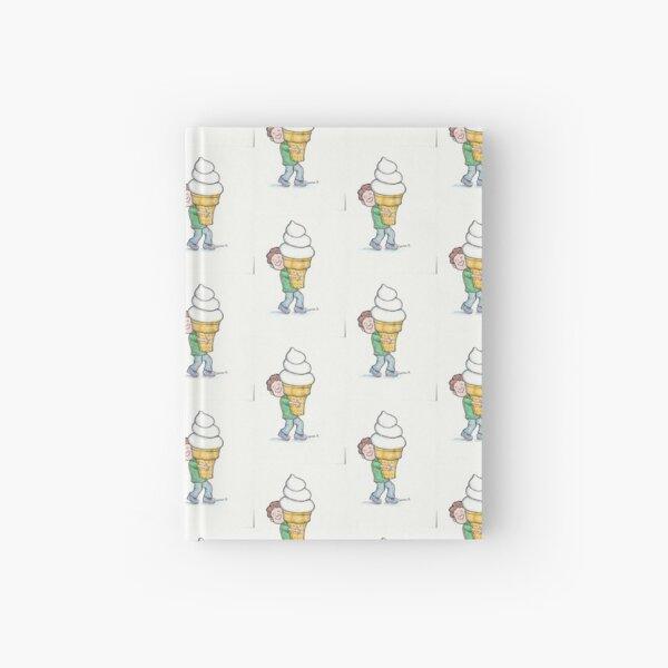 Super Big Cone, Little Kid-Ice Cream Lover! Hardcover Journal