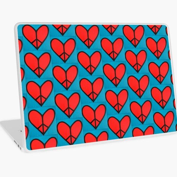 Peaceful Heart Laptop Skin