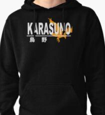 Sudadera con capucha Logotipo de la escuela secundaria Karasuno