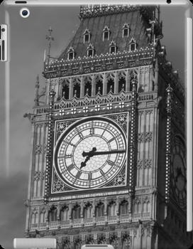Big Ben 3 B&W by photonista